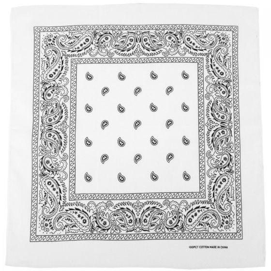 MFH Bandana en coton blanc