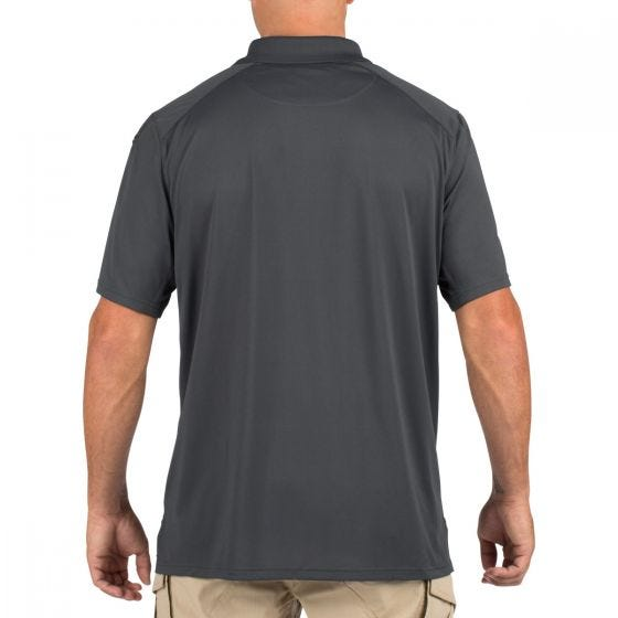 5.11 Helios Polo Short Sleeve Charcoal