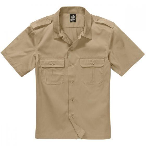 Brandit T-Shirt à manches courtes US beige