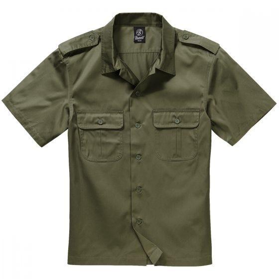 Brandit T-Shirt à manches courtes US vert olive