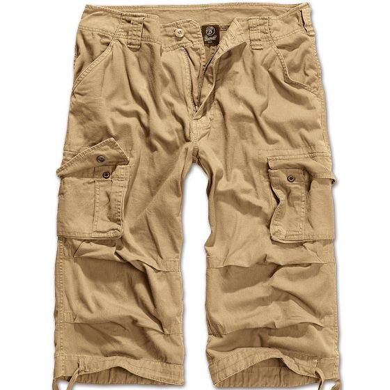 Brandit Short 3/4 Urban Legend beige