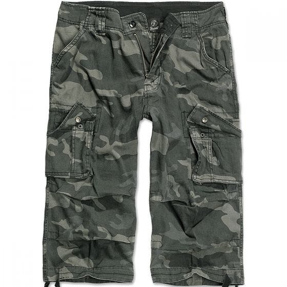 Brandit Short 3/4 Urban Legend Dark Camo