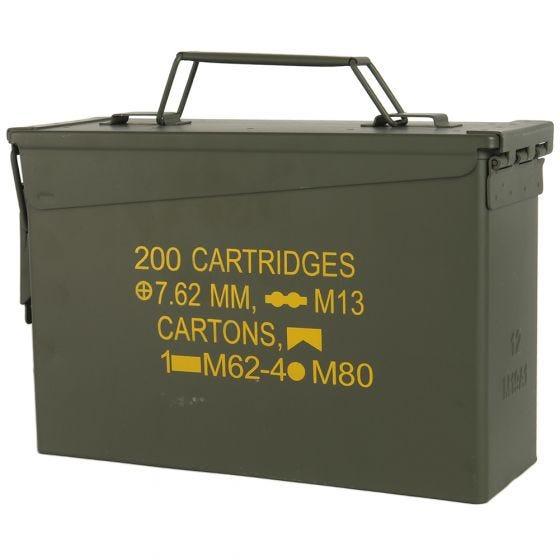 Mil-Tec Boîte à munitions US M19A1 Cal,30 vert olive