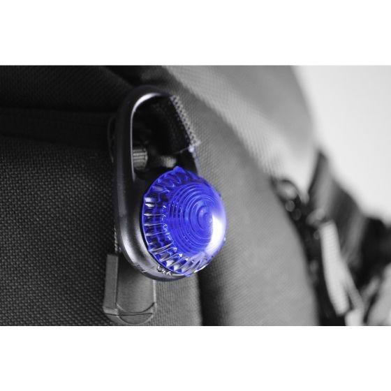 Adventure Lights Lampe clipsable Guardian Tag-It bleue