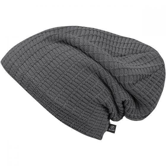 Brandit Bonnet tricoté John Ajour anthracite chiné