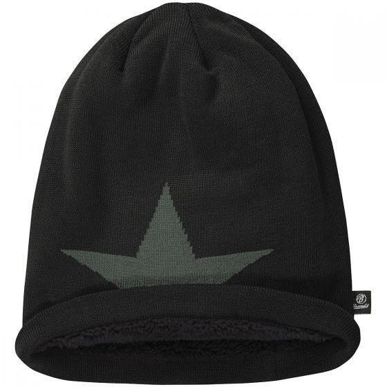 Brandit Bonnet Star Cap noir