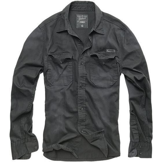 Brandit T-Shirt Hardee Denim noir