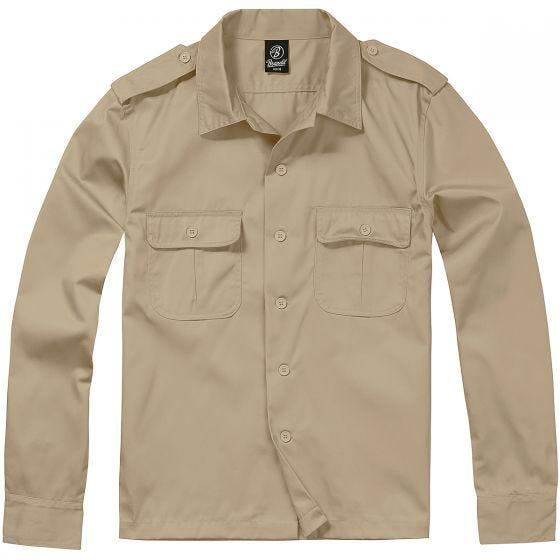 Brandit T-Shirt à manches longues US beige