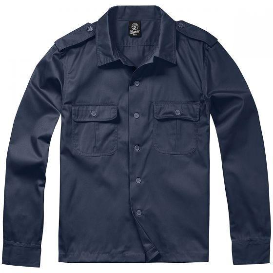 Brandit T-Shirt à manches longues US Navy