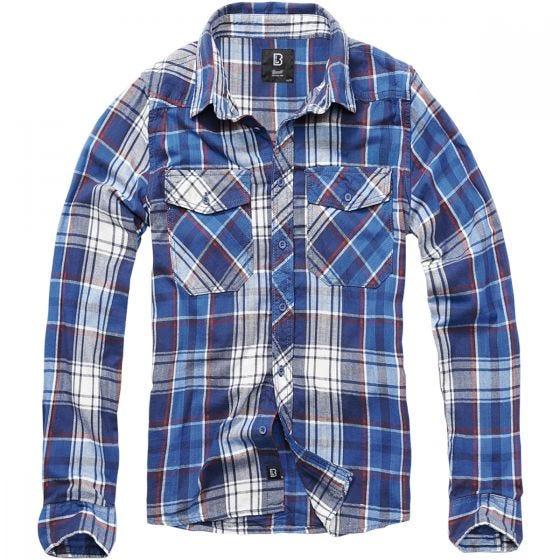 Brandit T-shirt Check Navy