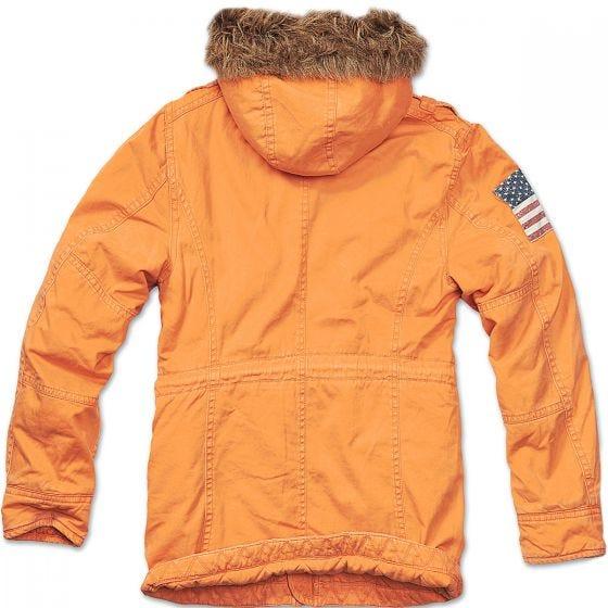 Brandit Veste Vintage Explorer Stars & Stripes orange