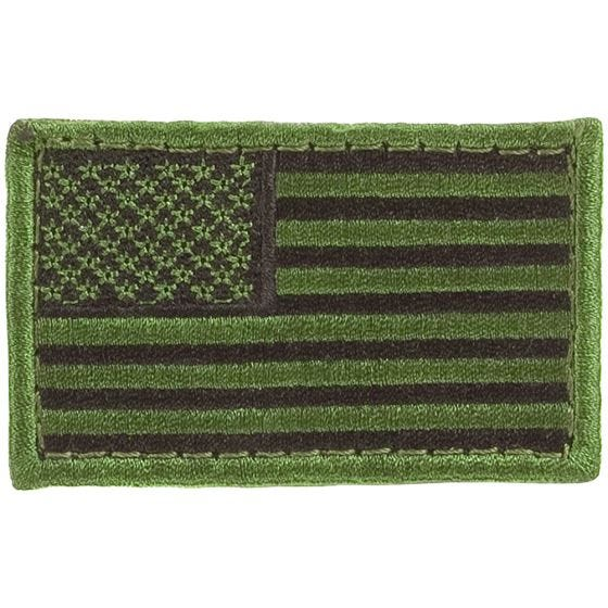 Condor Écusson drapeau des USA Olive Drab