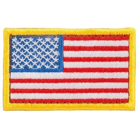Condor Écusson drapeau des USA rouge/blanc/bleu