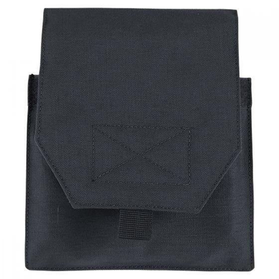 Condor Lot de 2 pochettes pour plaques latérales noires