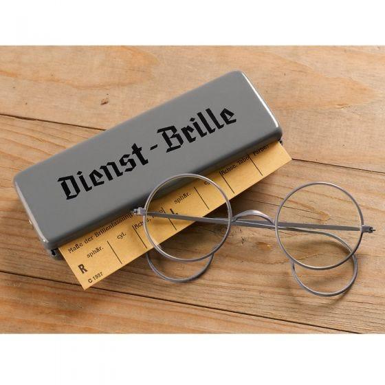 Mil-Tec Dienst-Brille avec boîtier métallique