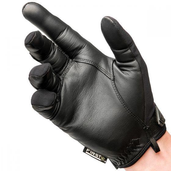 First Tactical Gants avec articulations rigides pour homme noir