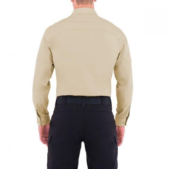 First Tactical T-shirt tactique à manches longues pour homme Specialist kaki