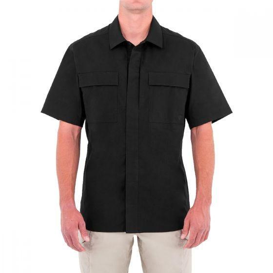 First Tactical T-shirt à manches courtes pour homme Specialist BDU noir