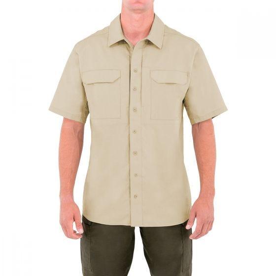 First Tactical T-shirt tactique à manches courtes pour homme Specialist kaki