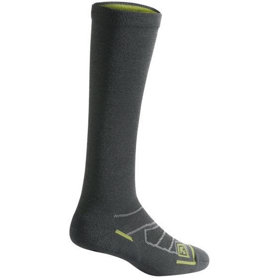 """First Tactical Chaussettes All Season 9"""" laine mérinos Charcoal"""