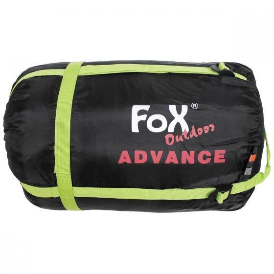 Fox Outdoor Sac de couchage sarcophage Advance noir/gris