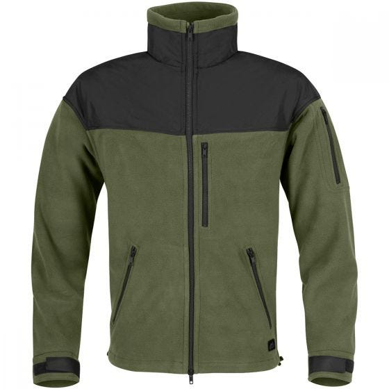 Helikon Polaire Classic Army Olive Green/noire