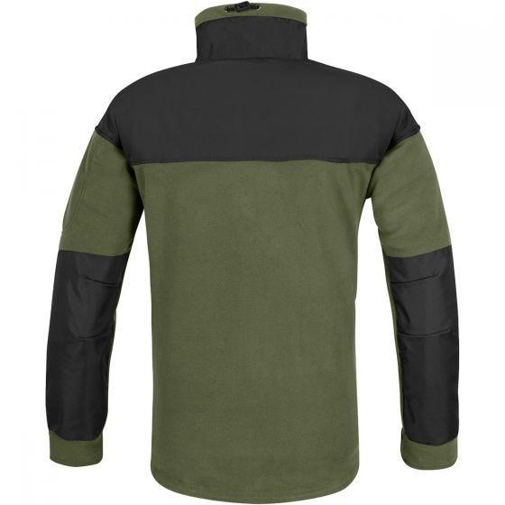 Helikon Polaire Classic Army avec membrane vert olive/noire