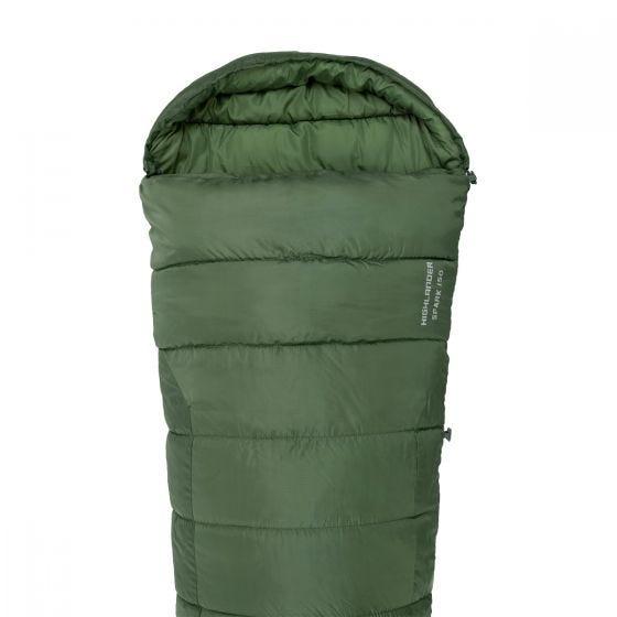 Highlander Phoenix Spark 150 Mummy Sleeping Bag Olive Green