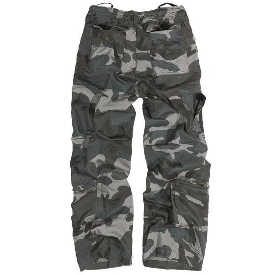 Surplus Pantalon cargo Infantry Night Camo