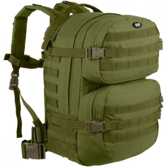 MFH Sac à dos Assault II OD Green