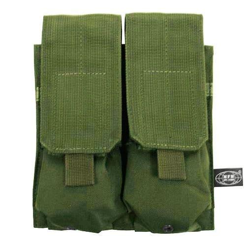 MFH Porte-chargeur double M4/M16 MOLLE vert olive