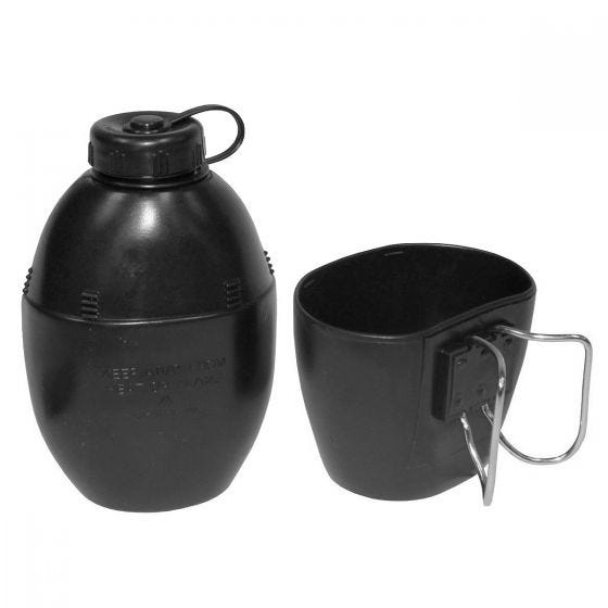 MFH Gourde style britannique avec tasse noire
