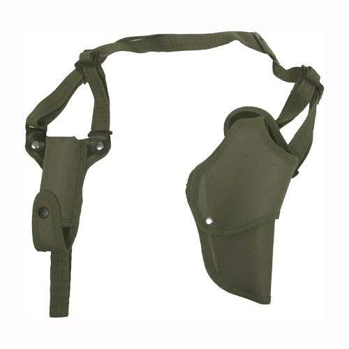 MFH Holster d'épaule droit pour pistolet vert olive