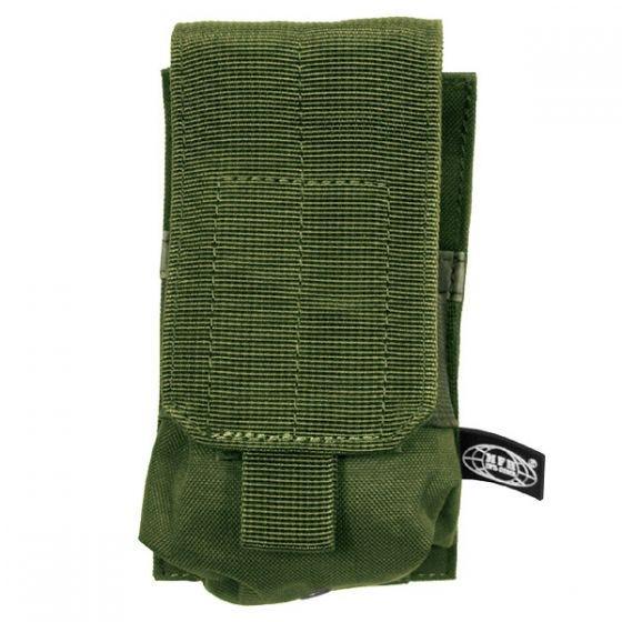 MFH Porte-chargeur simple MOLLE pour M4/M16 vert olive