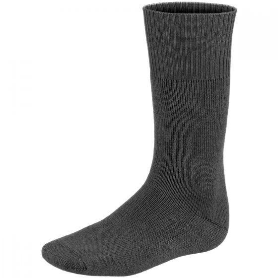 MFH Chaussettes très chaudes et longues grises