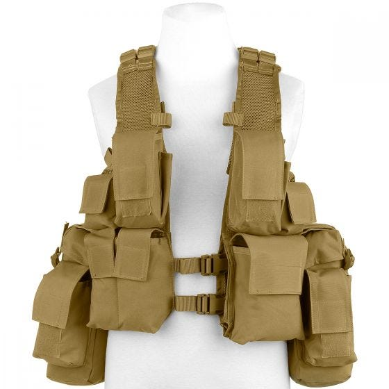 MFH Gilet tactique sud-africain Coyote Tan