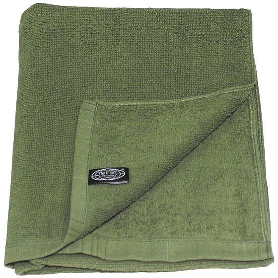 MFH Serviette en tissu éponge 110 x 50 cm OD Green