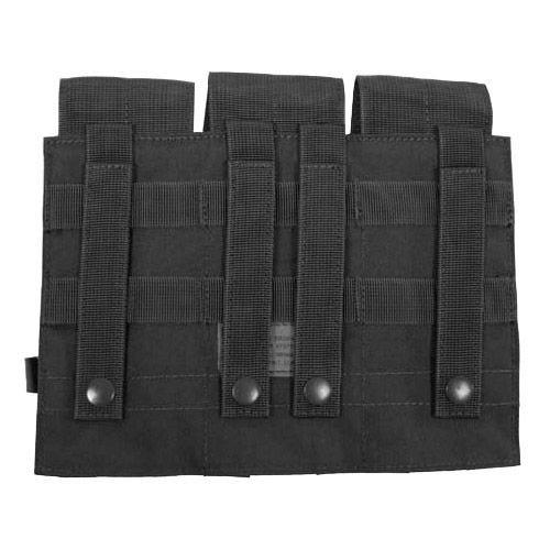 MFH Porte-chargeur triple M4/M16 MOLLE noir