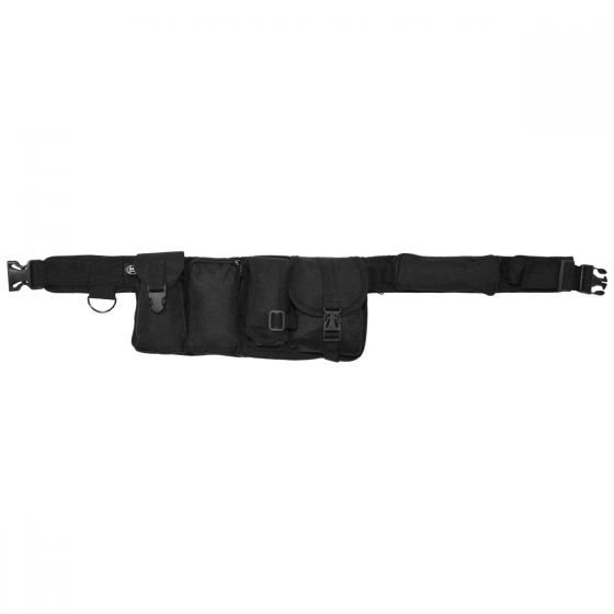 MFH Ceinture 6 poches noire