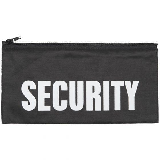 Mil-Tec Écusson arrière Security avec fermeture Éclair