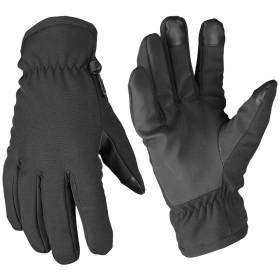 Mil-Tec Gants Softshell Thinsulate noirs