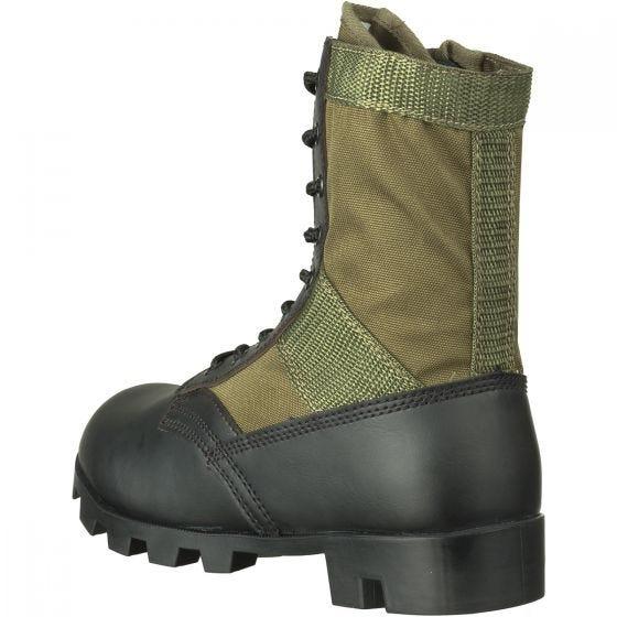 Mil-Tec Bottes militaires US Jungle vert olive