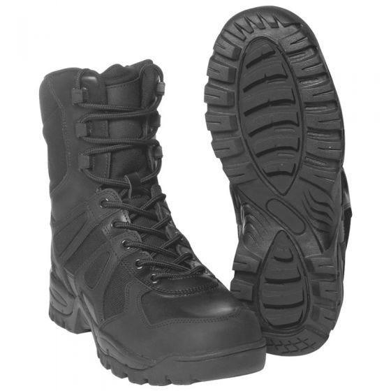 Mil-Tec Bottes militaires Generation II noires