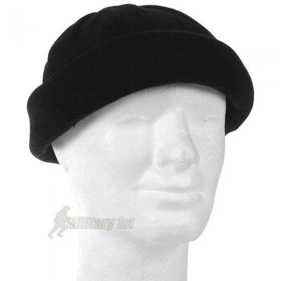 Mil-Tec Bonnet Commando noir