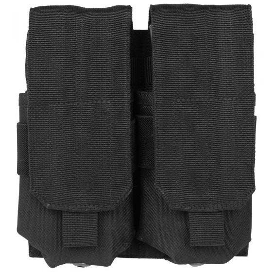 Mil-Tec Porte-chargeur double M4/M16 MOLLE noir