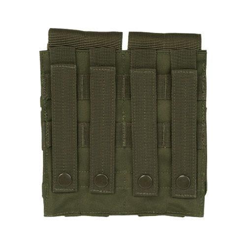 Mil-Tec Porte-chargeur double M4/M16 MOLLE vert olive