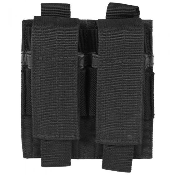 Mil-Tec Porte-chargeur de pistolet double noir