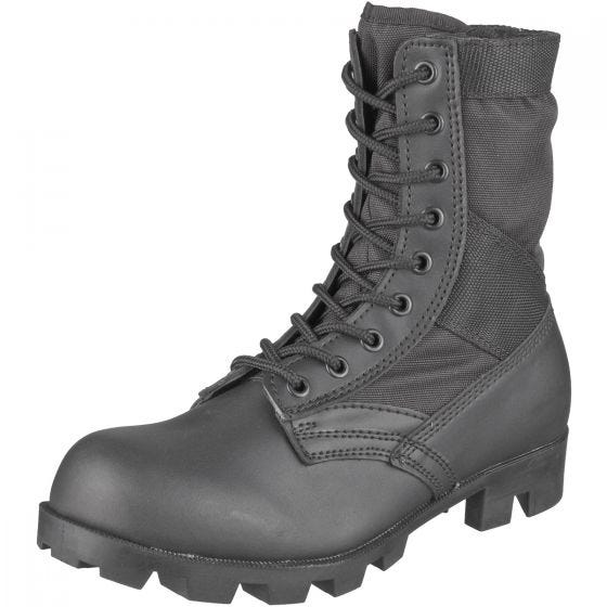 Mil-Tec Bottes militaires US Jungle noires