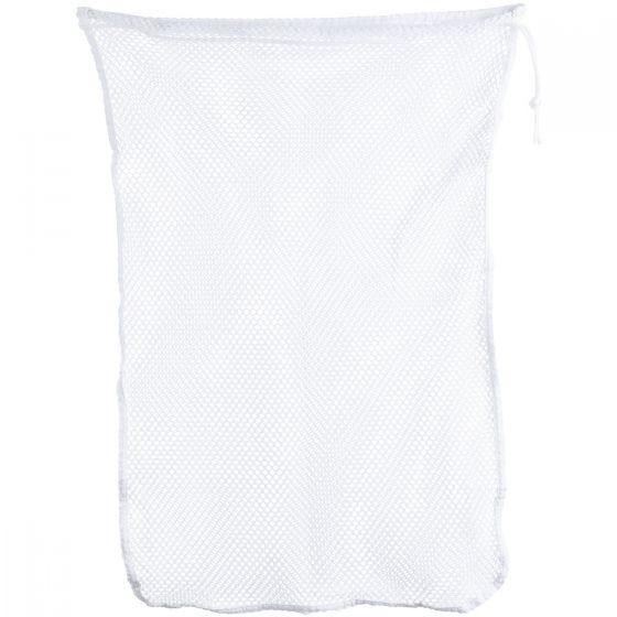 Mil-Tec Sac à linge en mesh 50 x 75 cm blanc