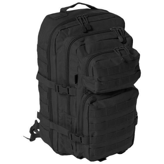 Mil-Tec Sac à dos Assault One Strap grande taille noir